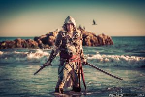 Captain Edward Kenway by Forcebewitya