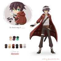 TEN :: Outfit Design for Sunarii by Nestery