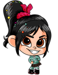 Commission: Vanellope for Katie0513 by MrSniffy
