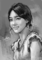 Taeyeon_speedsketch3 by KoweRallen