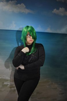 Green and Black by BlackwingCosplay
