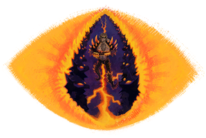 Eye of Sauron by FlyingCarpets