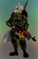 Furrevolt Soldier by Gunwolf666