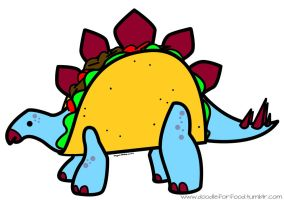 Stego Taco by DoodleForFood