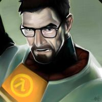 Gordon Freeman  by Maggsec4