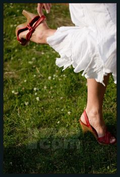The Red Shoes by mnoo