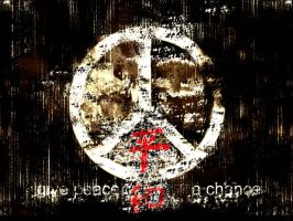 Give peace a chance by ciko5