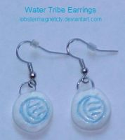 Water Tribe Earrings by lobstermagnetcty