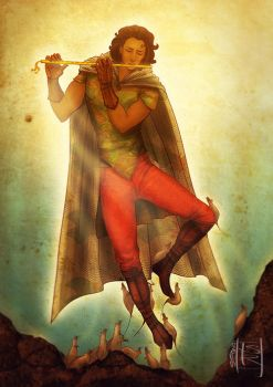 The Pied Piper by DeridiasDesigns