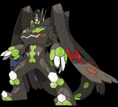 Zygarde Perfect Form official artwork by prfctcellrulz