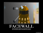 FACEWALL Demotivational poster by MissingNoGhost