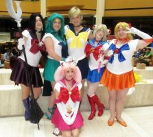 Sailor Senshi Shot at AWA 2012 by Hamm-Sammich