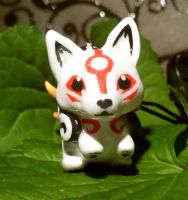 Chibi Amaterasu by TheCuriousQuail