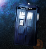 The TARDIS by sunnydelight18