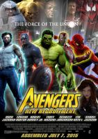 The Avengers 2 Fan Poster by Alecx8