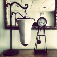Clock and Lamp by marc-the-kid