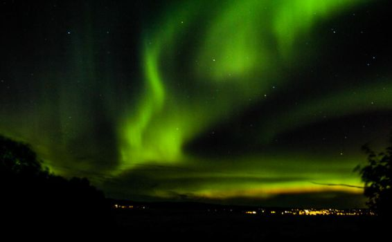 Northern lights - Malvik by jannelisabeth
