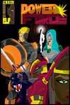 The Power Force Cover Promo by Brown-Elf-Studios