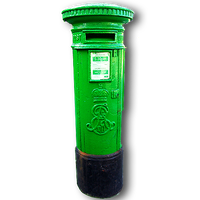 Irish Postbox Thunderbird Outlook Email Icon by yereverluvinuncleber