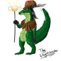 The Lightmaster concept by FeatheredSoap