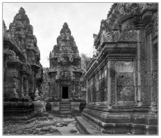 Banteay-Srei #2 by Roger-Wilco-66