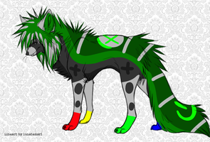 X-Box Wolf Adopt -closed- by Furry-Adopts576