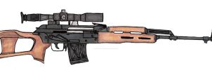 PSL Sniper Rifle by stopsigndrawer81