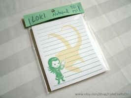 Loki Notepad by MyFebronia