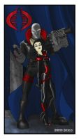 Destro and The Baroness by AmandaRachels