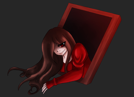 lady in red(old) by Toxic-Asylum