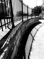 Curve in the Fence by tracy-Me