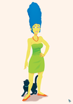 Marge Simpson by poipopoi