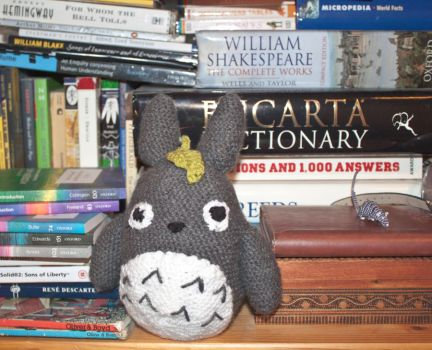 Crochet Totoro by esther-rose-mouse