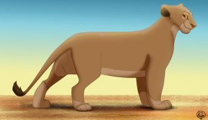 Common Apollon Lioness by dyb