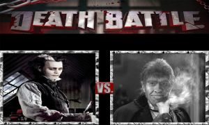 Sweeney Todd vs. Edward Hyde by JasonPictures