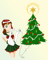 Sailor Jupiter's Christmas Lights by Ametyr