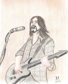 Dave Grohl by Turock-X