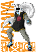 Karaiya (King Kai and Jiraiya fusion) by JMBfanart