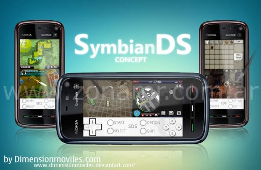 SymbianDS concept by dimensionmoviles