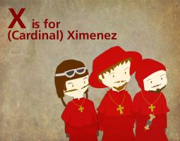 X is for Ximenez by whosname
