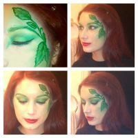 Poison Ivy Inspired Makeup 2 by KLRainbow