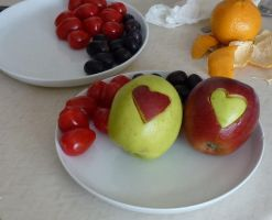 Two Love Apples in the Kitchen by SrTw