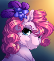 Pinkie Portrait by KittehKatBar