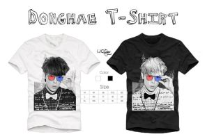 Donghae T-Shirt 2 by qdlego