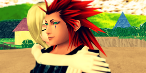 Just a little kiss by Kingdom-Hearts-Realm