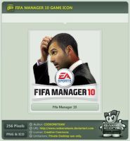 Fifa Manager 10 Icon by CODEONETEAM
