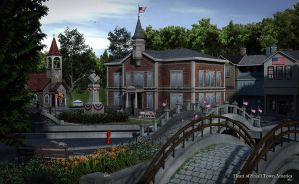 Heart of Small Town America by Dani3D