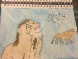 Hofu (For Art Trade) by Venturiantale-lions1