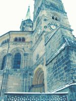 Bamberg Cathedral by selesnya