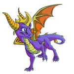 Spyro by Tearraven